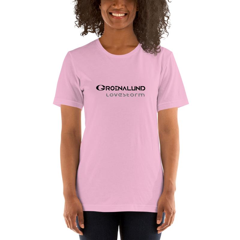 """Short-Sleeve Unisex T-Shirt """"lovestorm"""""""