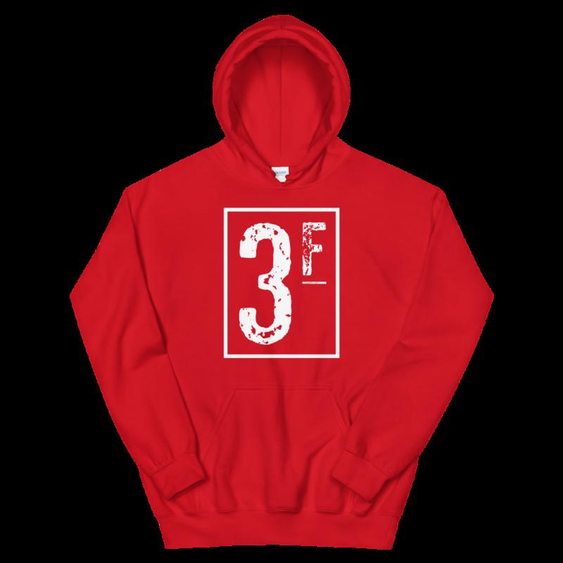 3Faces Hoodie | White Logo