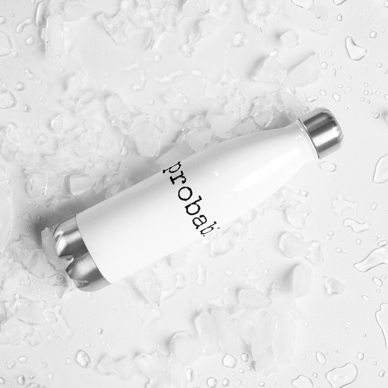 the probables. Stainless Steel Water Bottle White