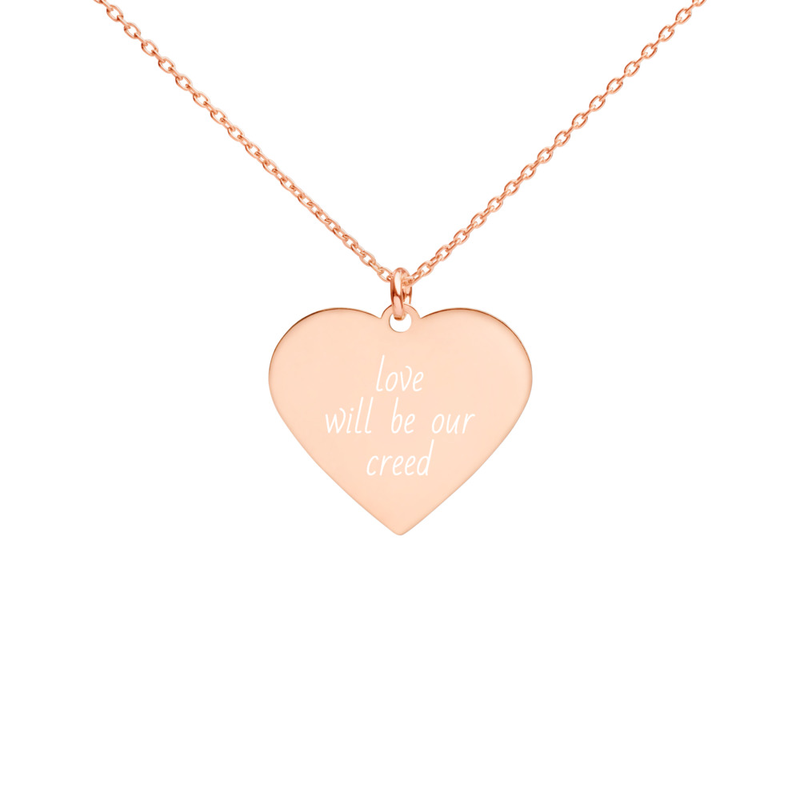 LOVE WILL BE OUR CREED Necklace