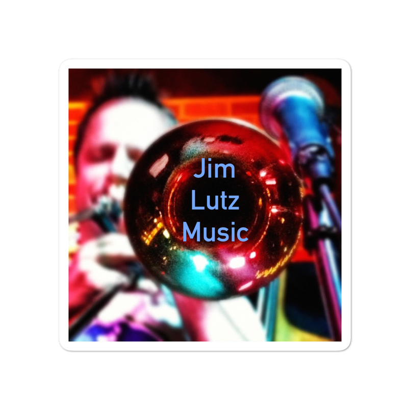 Jim Lutz Music - Bubble-free stickers