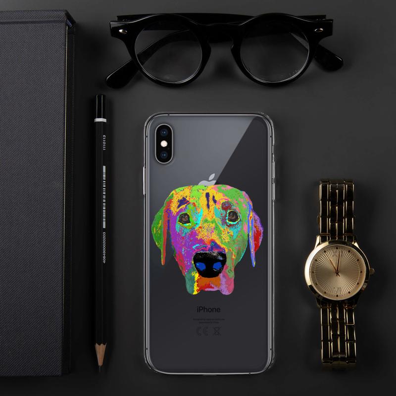 Dog head iPhone Case