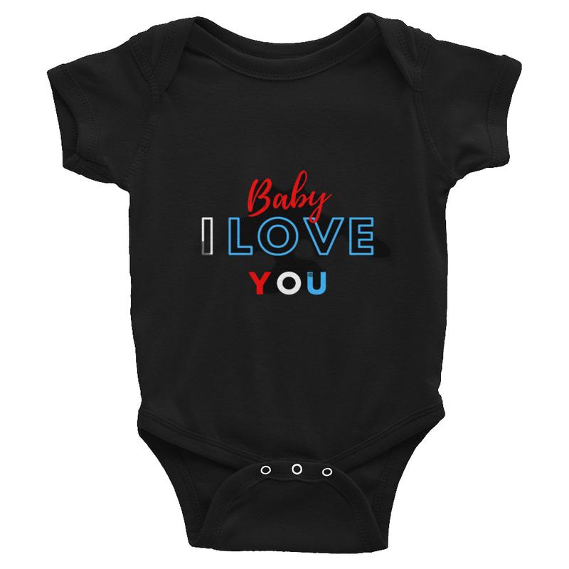 BABY I LOVE YOU Infant Bodysuit