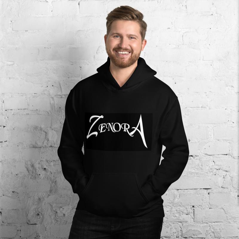 Black Zenora Unisex Hoodie
