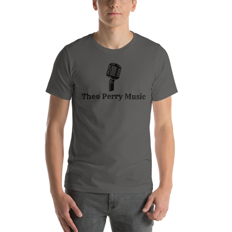 Short-Sleeve Unisex T-Shirt Old mic Theo Perry Music