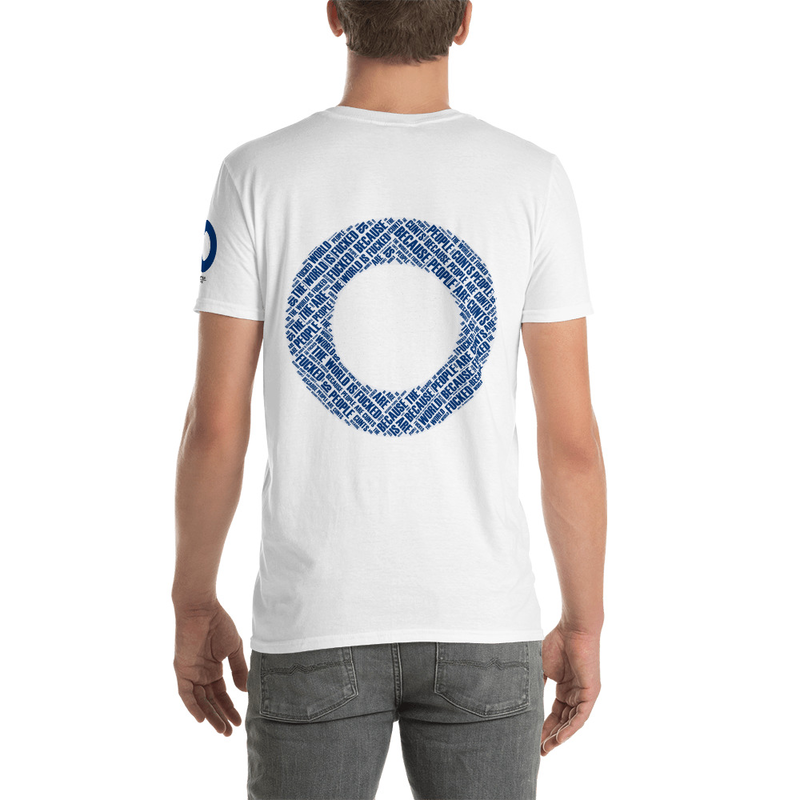 The World is Fucked Short-Sleeve Unisex T-Shirt (Reversed)