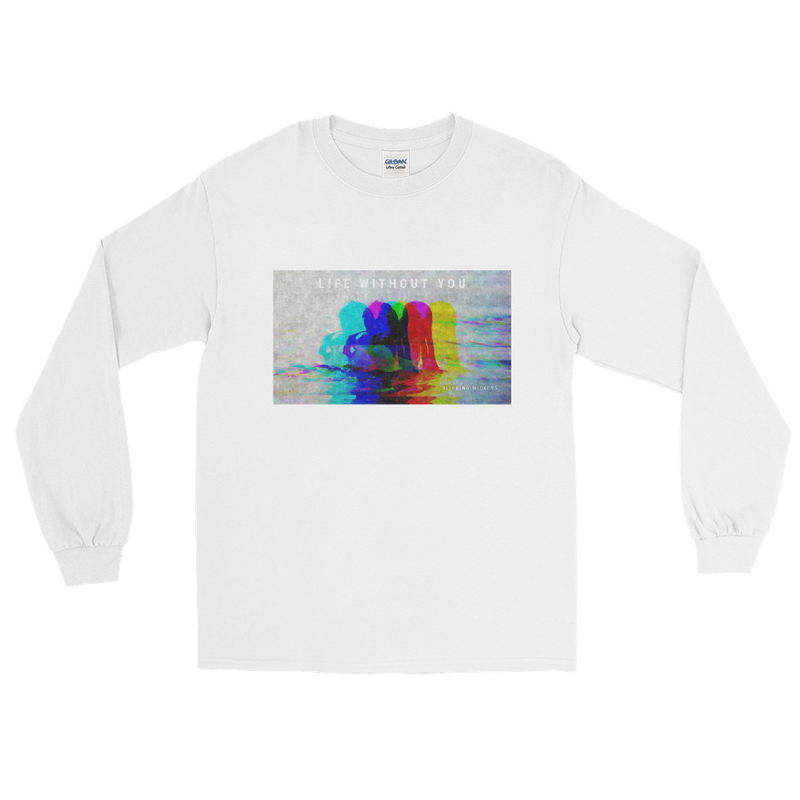 'Life Without You' Classic Fit Long Sleeve Shirt