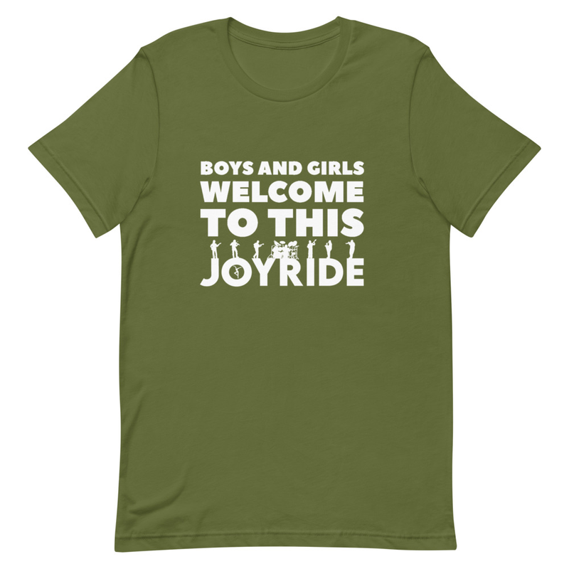 Welcome To This JOYRIDE Short-Sleeve Unisex T-Shirt
