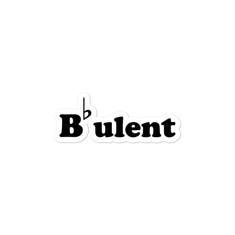 B-Flatulent - Bubble-free stickers