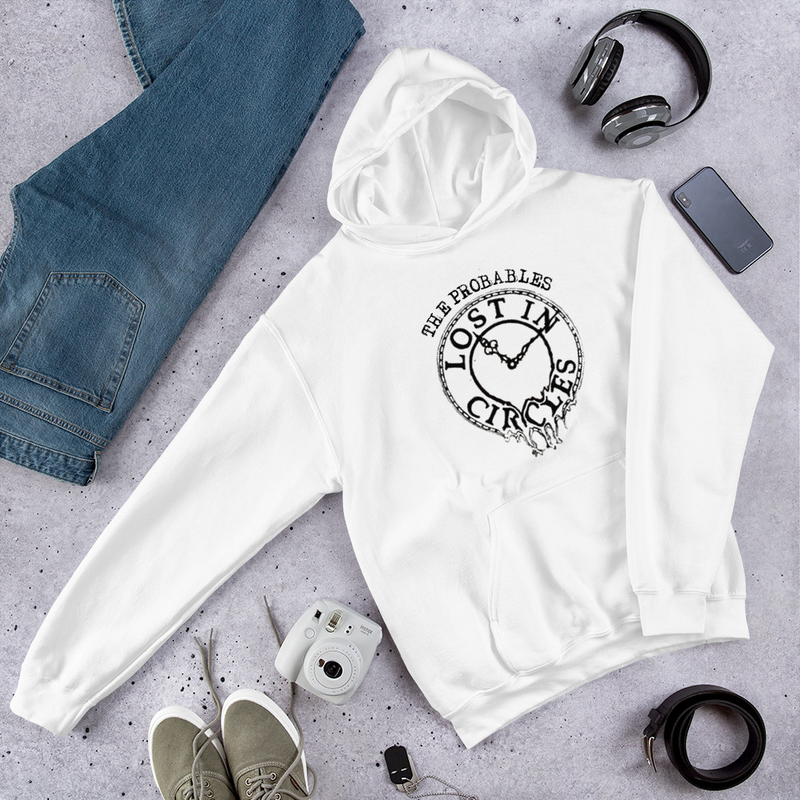 Lost in Circles Graphic Unisex Hoodie