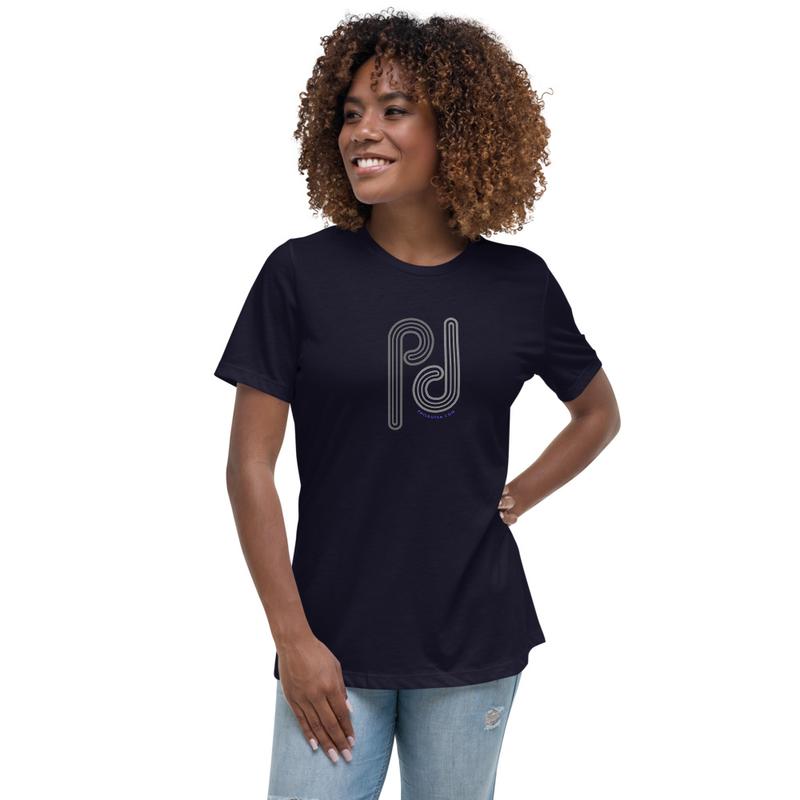 Women's Relaxed Retro Pop Logo T-Shirt