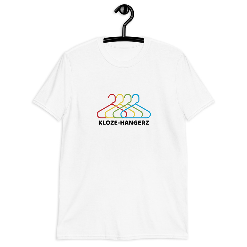 Short-Sleeve Unisex T-Shirt - Kloze-Hangerz (with CGK logo on upper back)