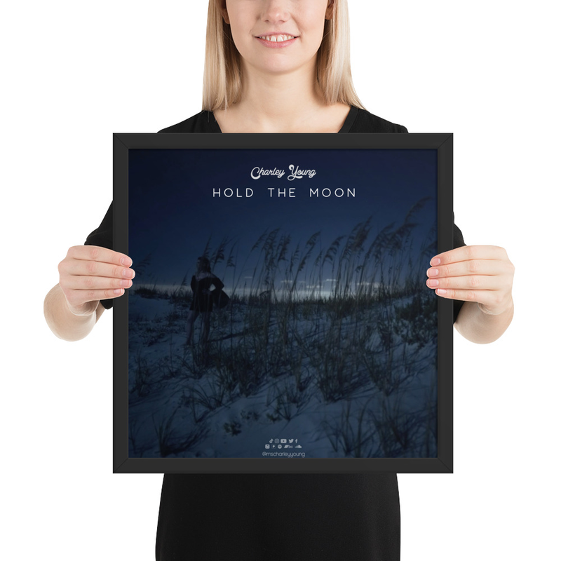 Hold the Moon Framed Poster