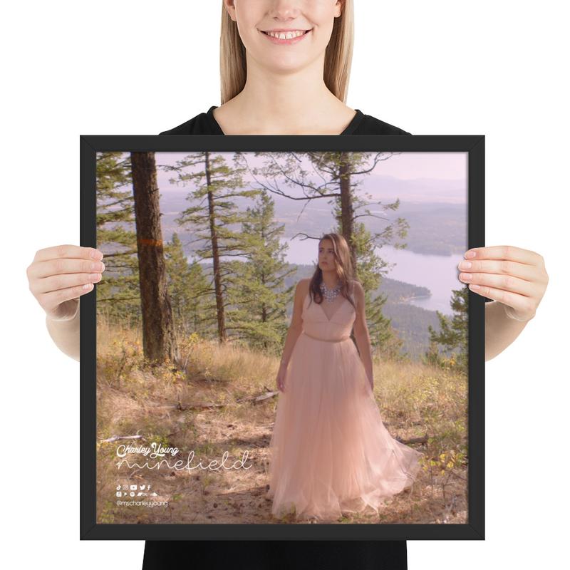 Minefield (Alternate) Framed Poster