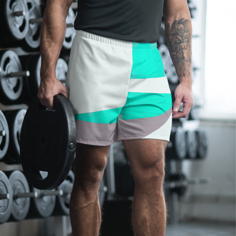 """Marooned"" Men's Athletic Long Shorts"