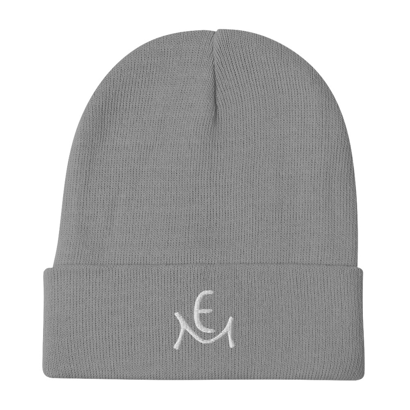 Embroidered Beanie with Logo