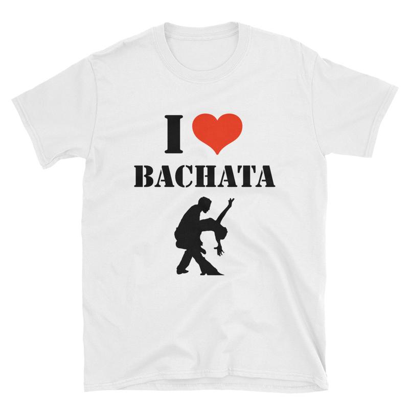 I Love Bachata Unisex T-Shirt