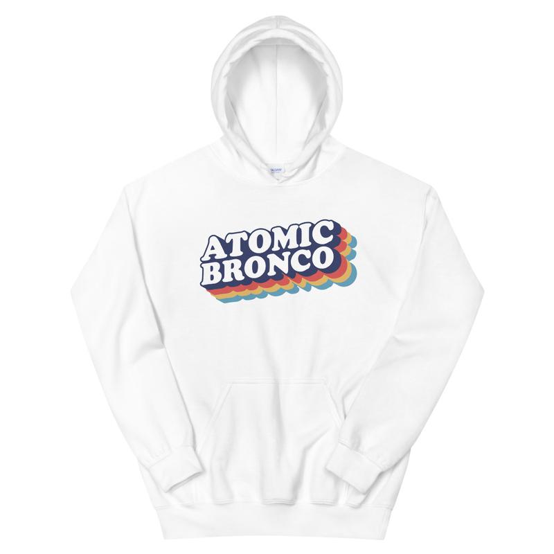 Atomic Bronco Color Logo Hoodie