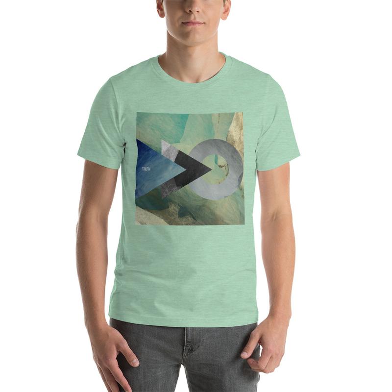 Truth Lofi Hip Hop Vibes Melancholy T-Shirt, Geometric Shapes
