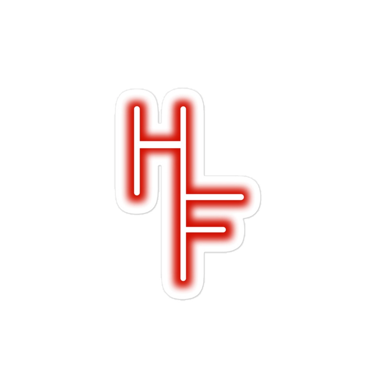 Hi Fidelity Logo Sticker