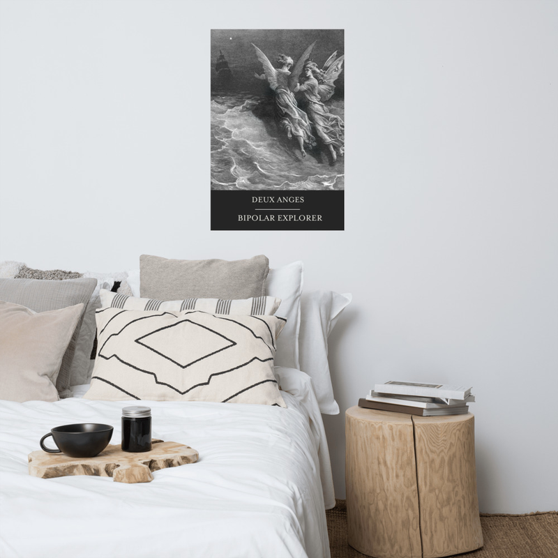 DEUX ANGES Poster -US size (in)