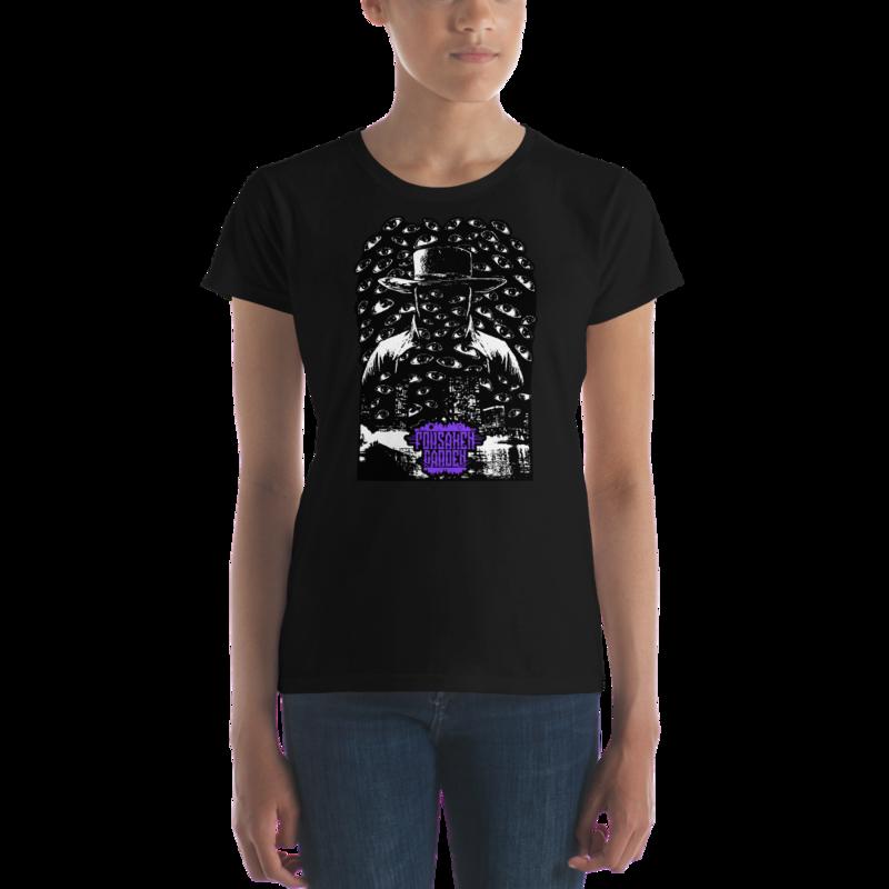 Women's short sleeve t-shirt Forsaken Garden Outsider