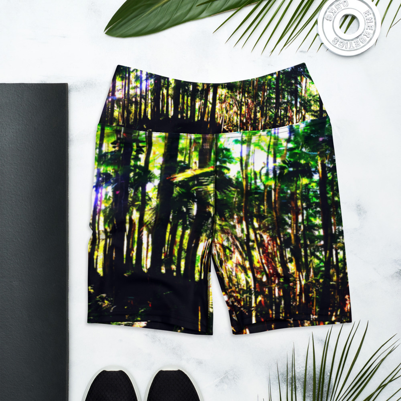 Hilo Jungle Yoga Shorts