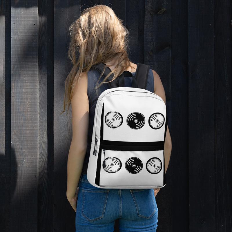 Backpack - Black & White Vinyl