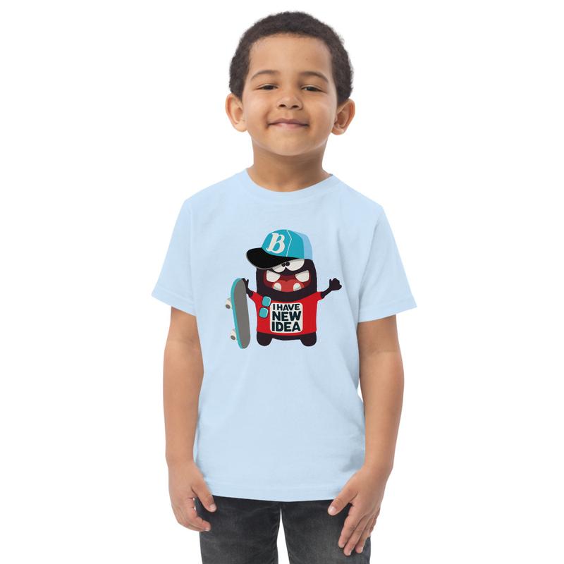 Toddler jersey t-shirt