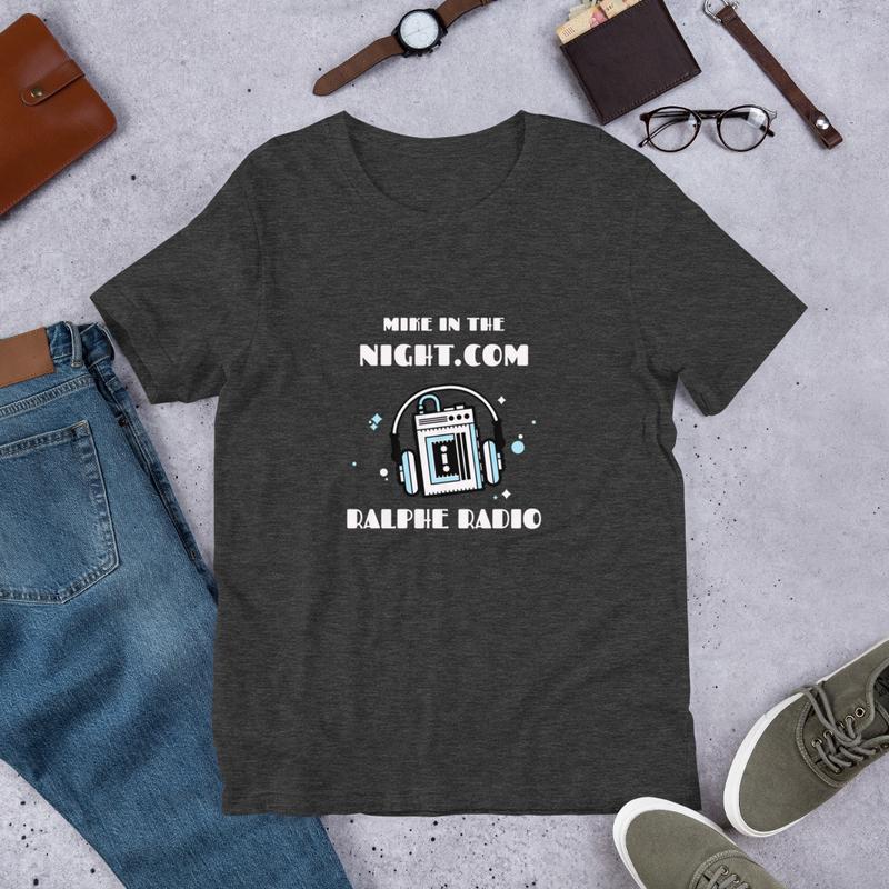 Mike on Ralphe Radio Short-Sleeve Unisex T-Shirt