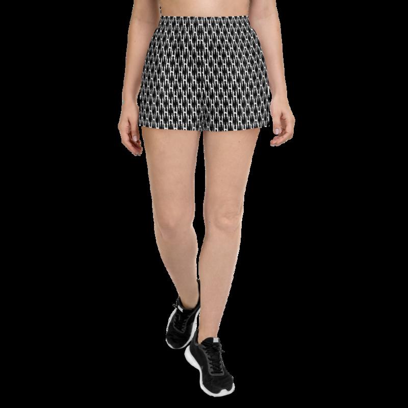 HONESTGANG Monogram Women's Athletic Shorts