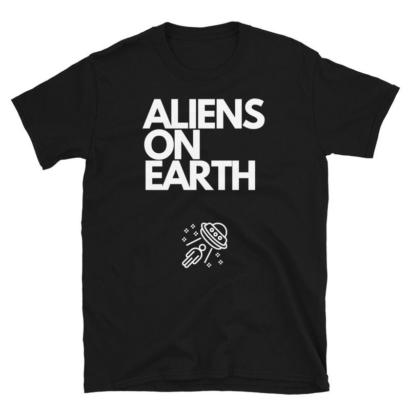 Short-Sleeve Unisex Alien Abduction T-Shirt