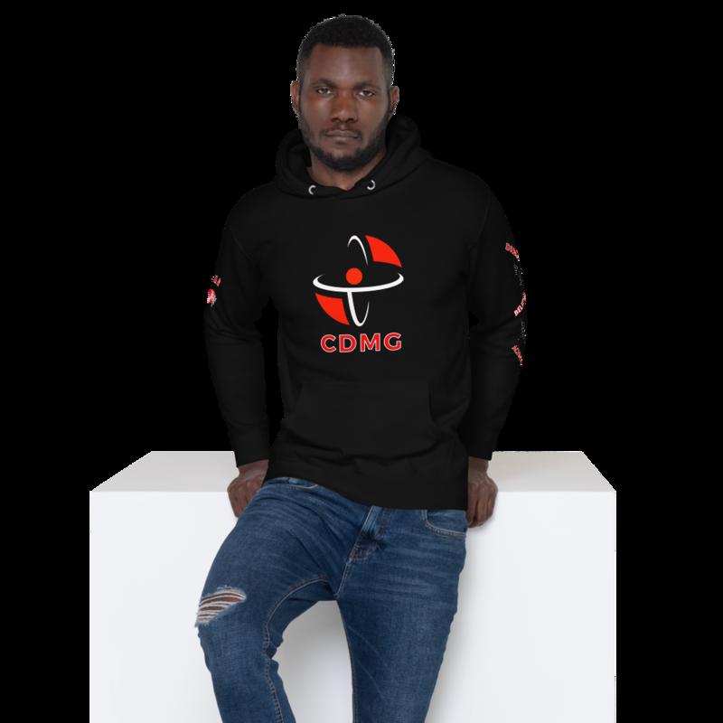 CDMG Custom Hoodie Blk