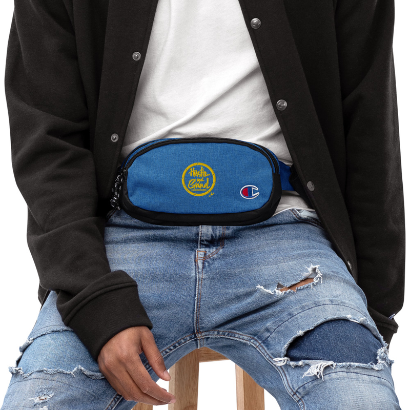 'Hustle and Grind' Champion fanny pack