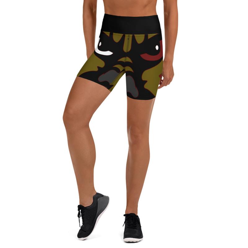 Hyena Gang Yoga Shorts
