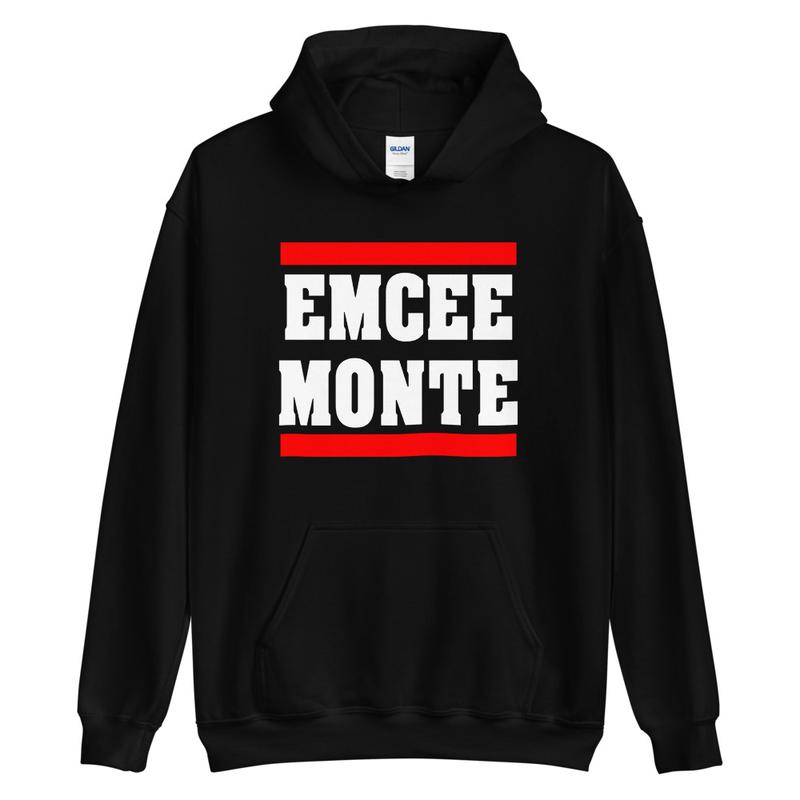 Emcee Monte Classic Logo Hoodie Black