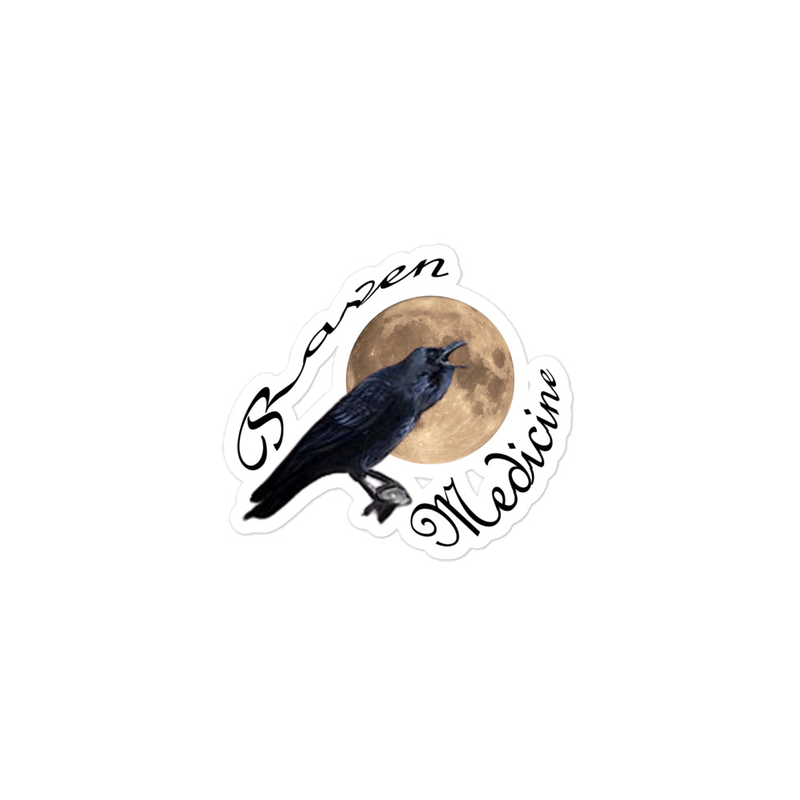 Raven Medicine (From the Film)  - Bubble-free stickers
