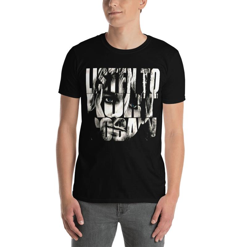 """""""Listen"""" Short-Sleeve Unisex T-Shirt"""