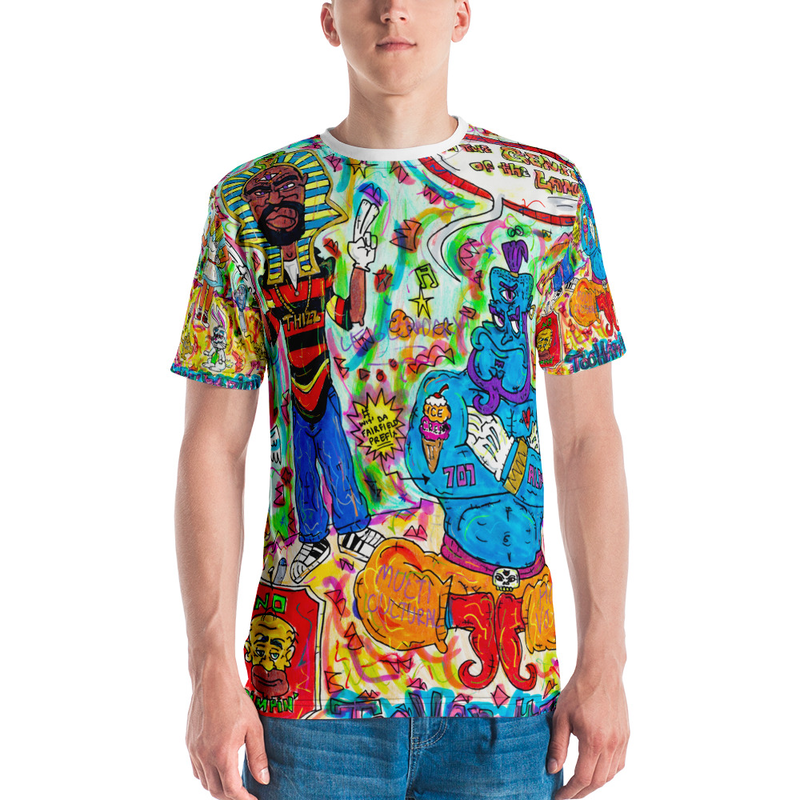 The Genie of the Lamp gshirt