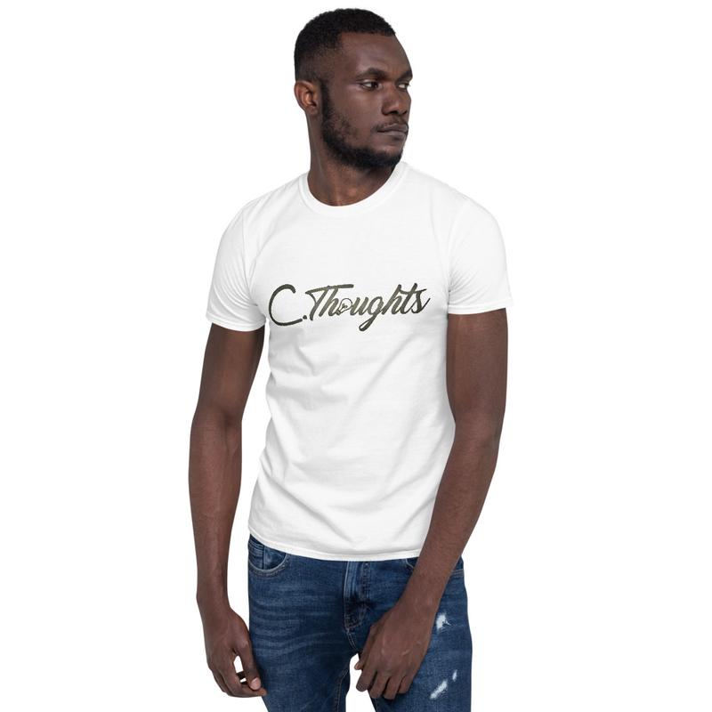 C.Thoughts Logo White T-Shirt