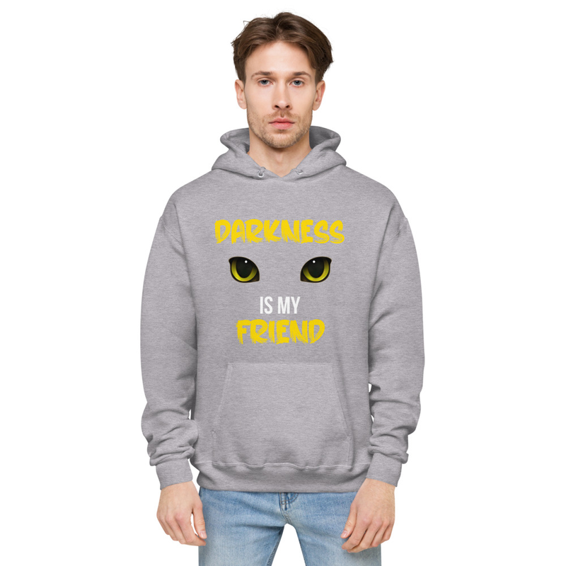 Darkness is My Friend Unisex fleece hoodie