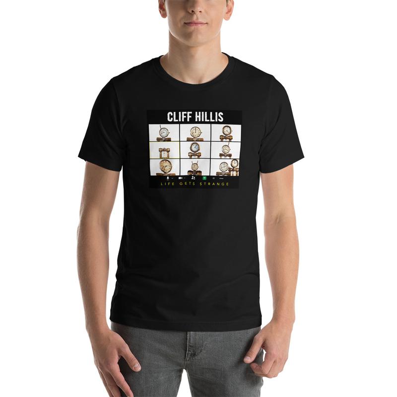 Cliff Hillis Robot Zoom shirt