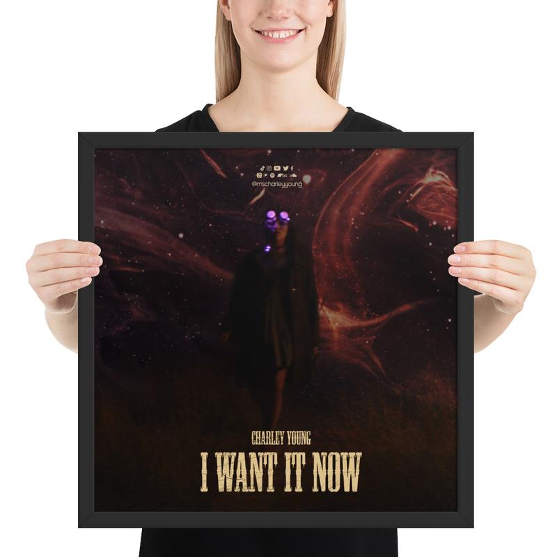 I Want It Now (Alternate) Framed Poster