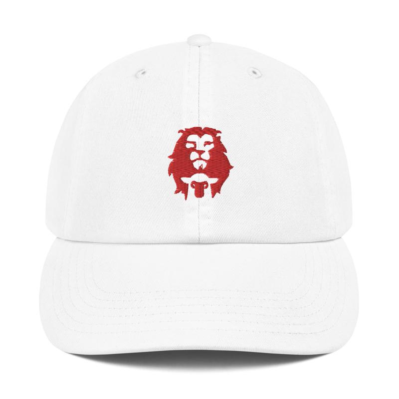 Lion & Lamb Champion Dad Cap