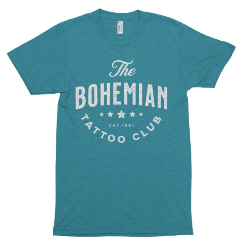 Bohemian Star Shirt` - Tri-Evergreen