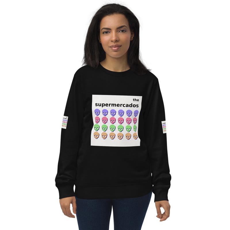 Unisex organic sweatshirt
