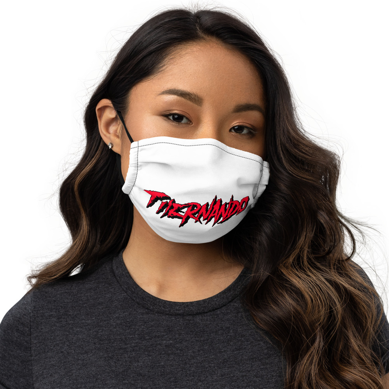 Fhernando Red Logo Premium face mask