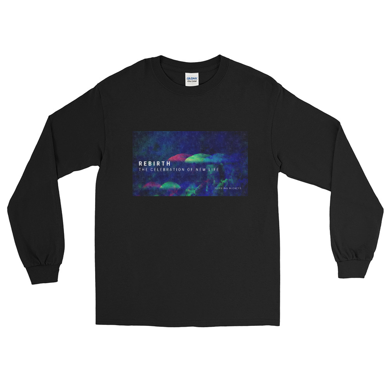 'Rebirth' Classic Fit Long Sleeve Shirt
