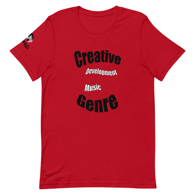 CDMG Short-Sleeve Unisex T-Shirt-Creative Development Muzik Genre