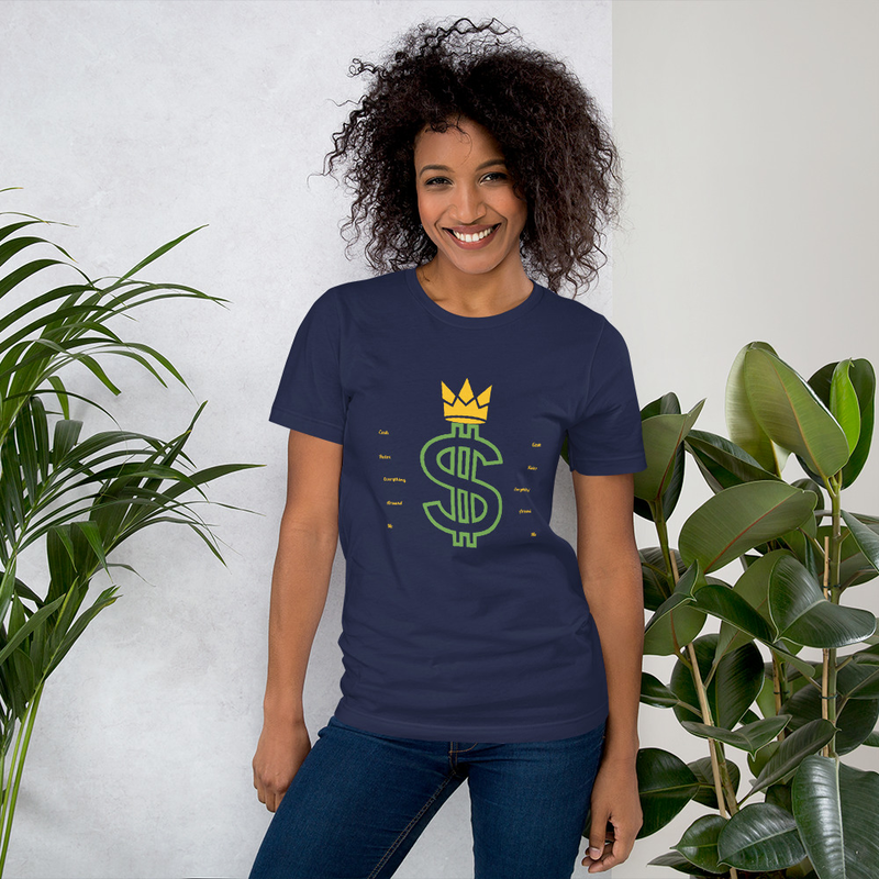C.R.E.A.M. Short-Sleeve Unisex T-Shirt